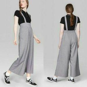 WILD FABLE - woven suspender jumpsuit_